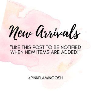 NEW ARRIVALS ADDED
